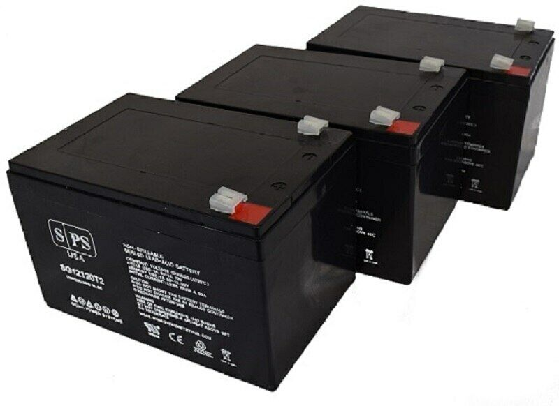 SPS Brand 12V 12Ah  Battery for Universal Power Group UB12120ZH Lawn and Garden