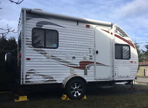 2012 Forest River Cherokee Wolf Pup 16P travel trailer