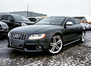 2009 AUDI S5 NAVIGATION | WHITE LEATHER | ACCIDENT FREE |