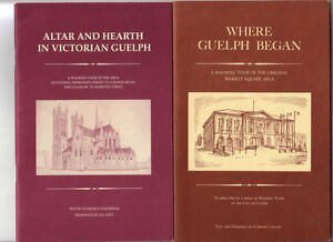 4 Guelph Walking Tours booklets