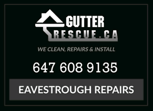 FREE CLEANING with gutter guards