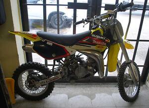 Suzuki RM-85 Dirt Bike