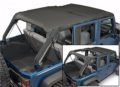 Rampage 2-in-1 Combo Brief & Topper w/ Storage 07-18 4dr Jeep Wrangler JK 94935 for sale  Peoria
