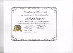 Home Inspections--Certified Professional Inspector