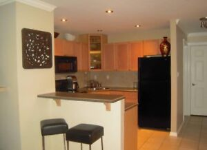 1,000 sq ft 2 bdr top floor Whyte Ave Condo