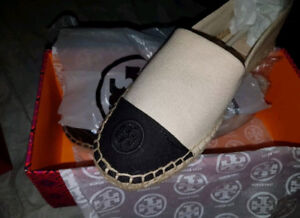 Tory Burch Colour-block Espadrilles, Brand new in box - size 9