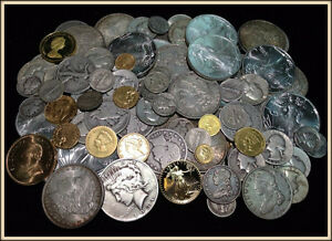 Coins Collections Silver Gold