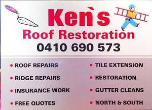 Roof repairs,roof tile,repointing,roof restoration perth. Craigie Joondalup Area Preview