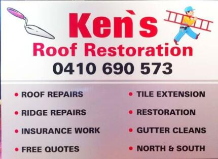 Roof repairs,roof tile,repointing,roof restoration perth.