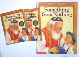 SOMETHING FROM NOTHING - BIG BOOK by Phoebe Gilman + 2 readers