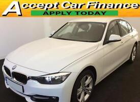 BMW 318 2.0TD ( 143bhp ) ( s/s ) 2013MY d Sport FROM £65 PER WEEK