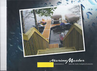 BOAT LIFTS, DOCKS, MARINAS AND ACCESSORIES