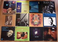 Small Assortment of Good Jazz on LP Vinyl Records
