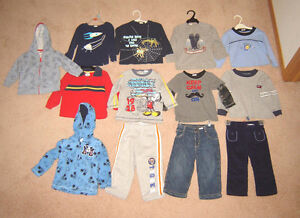 Boys Clothes, Sleepers, Jackets - 18, 18-24, 24 mos, Boots sz 10 Strathcona County Edmonton Area image 1