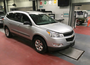 Saftied 2012 Chevrolet Traverse LT AWD 7 seats