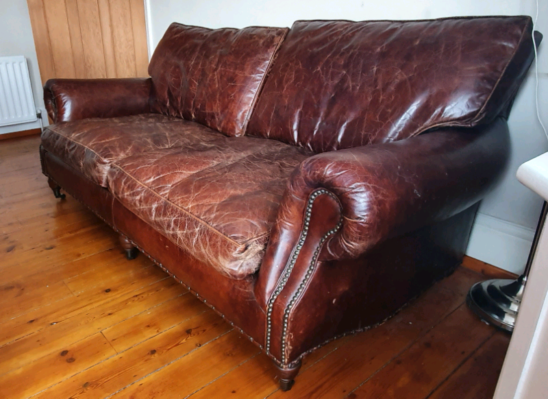Leather sofa Barker and Stonehouse | in Newcastle, Tyne and Wear | Gumtree