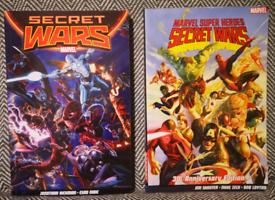 """Marvel Comic Graphic Novels """"Secret Wars"""""""