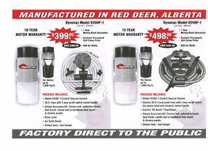 DYNOVAC CENTRAL VACUUM SYSTEMS - MADE IN RED DEER Cambridge Kitchener Area image 3