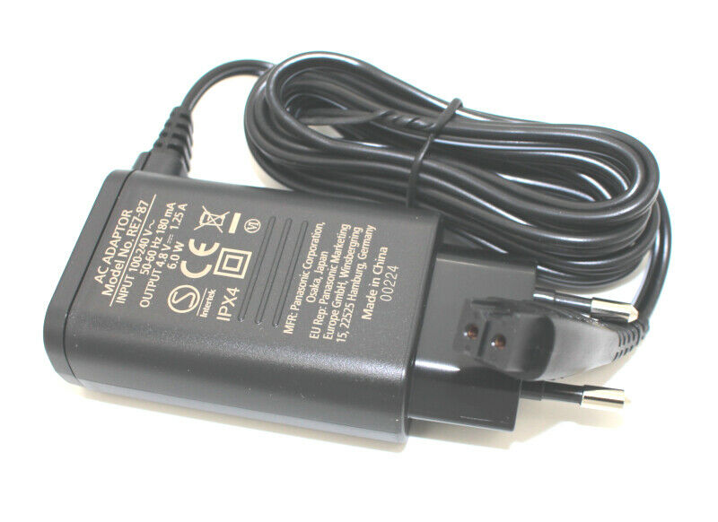 Panasonic WESLT6NK7664 Ladekabel Netzteil RE7-87 ER-SB40 ER-SB60 ER-SC40 ER-SC60