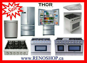 Gas Range, Refrigerator --- New best price, Open box upto 40%OFF