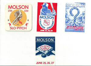 1990'S NHL SLO PITCH SCHEDULES AND COASTER