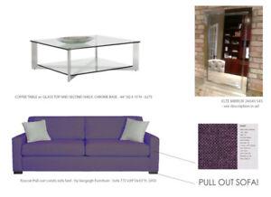 Interior Designer selling staging furniture! ELTE, GUS MODERN