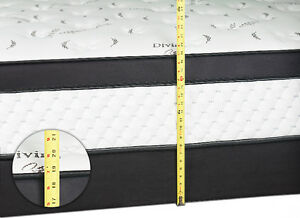 BRAND NEW Double / Queen Euro Top Pocket Coil Mattress FREE SHIP Kitchener / Waterloo Kitchener Area image 4