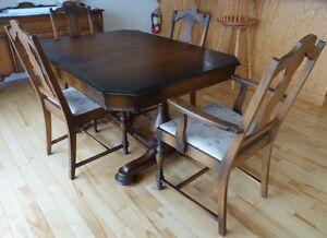 1930s Oak Diningroom Set - Price Reduced