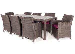 40% OFF◄ Aluminum RustFree UV treated PATIO outdoor dining table