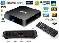 Android Tv Box M8S Amlogic S812 4K 8GO Mali 450 8 coeurs 5.8 GHZ