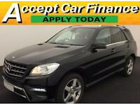 Mercedes-Benz ML250 FROM £124 PER WEEK!