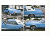 1978 Lincoln Mark V, This car is a beauty, Ready To Roll,
