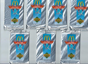 1991 McDONALD'S UPPER DECK FIRST YEAR UNOPEN PACKAGES