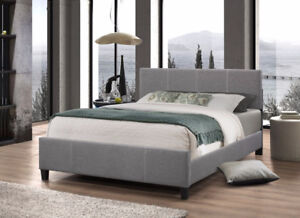 Brand New Claire Upholstered Platform Beds...