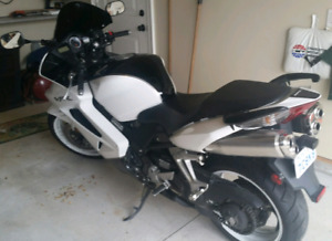 Honda VFR 800 with ABS