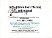 HOUSE WASHING (FALL SPECIAL)