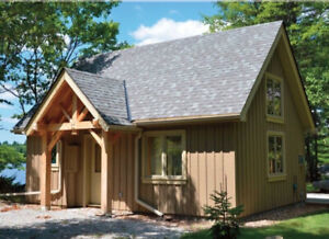 Timber frame home 16' x 24' (384sqft) - $29,900