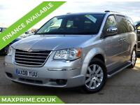 CHRYSLER GRAND VOYAGER 3.8 V6 PETROL LIMITED REAR DVD SCREENS+ REAR HEATED SEATS