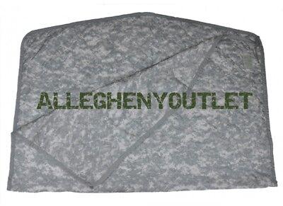 US Military Army ACU Digital Wet Weather PONCHO LINER Woobie Blanket VGC ()