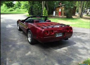Corvette convertible 1993, 40e anniversaire