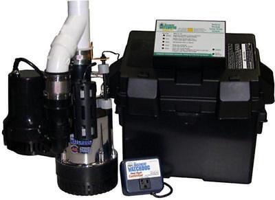 Glentronics Bw4000 Bwsp Basement Watchdog Primary Back Up Sump Pump System
