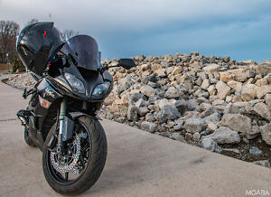 2009 Kawasaki Ninja ZX6R With AGV Helmet, Jacket, Stands....