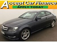 Mercedes-Benz C220 2.1CDI Blue FROM £62 PER WEEK.