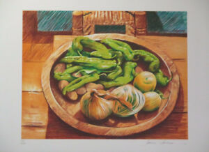 Limited Edition Lithograph Print by Artist Sandra Lawrence!