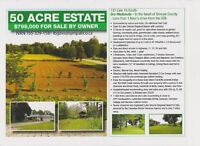 50 acre estate with stream and open field