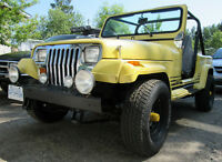 1990 Jeep Wrangler YJ Convertible