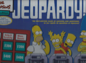 THE SIMPSONS ÉDITION JEOPARDY! NEUF PAS OUVERT