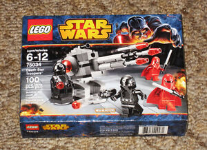 New LEGO STAR WARS Death Star Troopers Set 75034 Sealed Retired