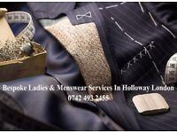 Bespoke Ladies & Menswear Services in Holloway London