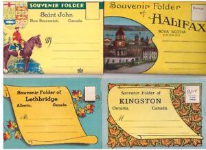232 albums cartes dépliantes vues différentes provinces canada